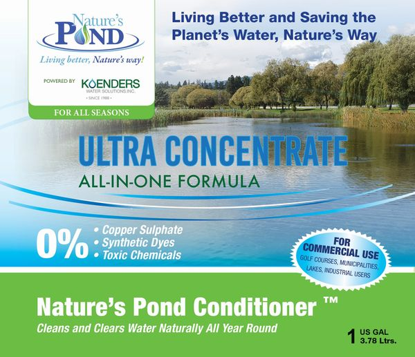 Nature's Pond Conditioner Ultra Concentrate