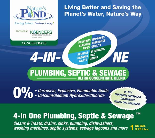 Nature's Pond '4-in-One Plumbing, Septic & Sewage'