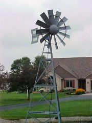 Windmill is 16 Years Old with Original Parts!