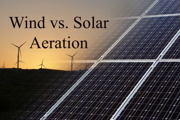 Wind vs. Solar Aeration