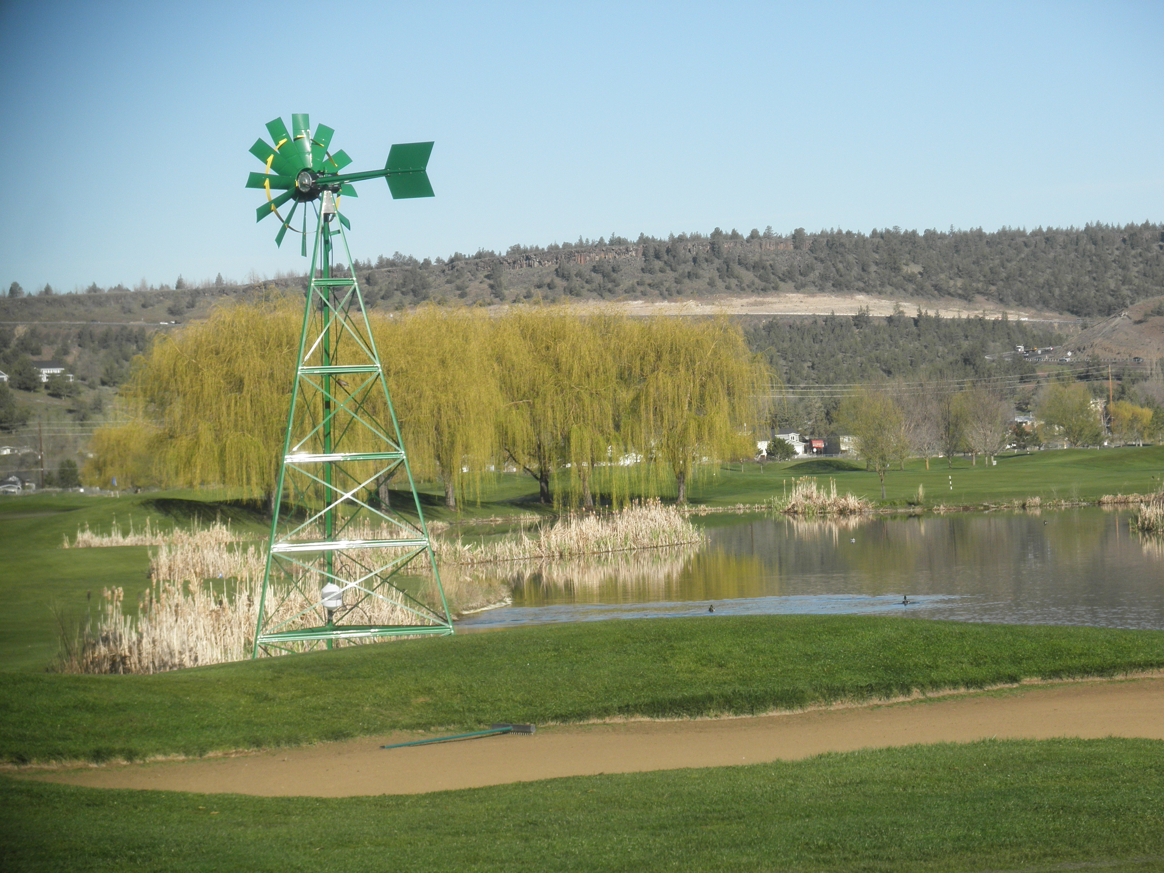 Meadow Lakes Golf Course Prineville Testimonial for Nature's Pond
